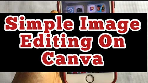 canva for beginners image editing